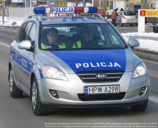 Policja Suwałki: Dzielnicowi zatrzymali nietrzeźwego kierowcę