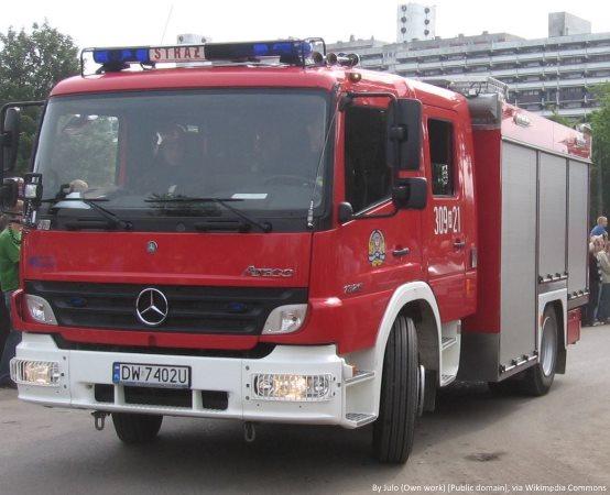 KMPSP Suwałki: Nietypowa interwencja suwalskich strażaków